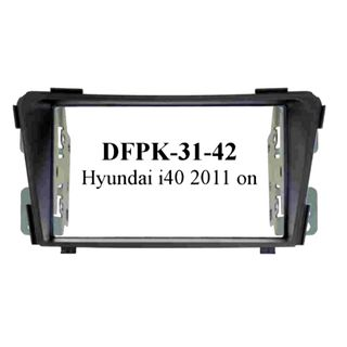 *FITTING KIT HYUNDAI I40 2011 ON DOUBLE DIN