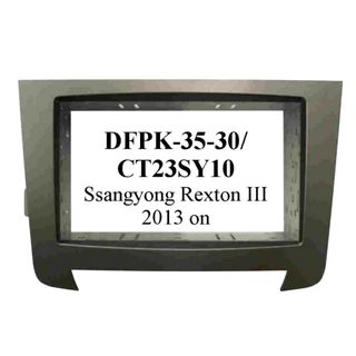 FITTING KIT SSANGYONG REXTON III 2013 ON DOUBLE DIN