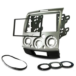 FITTING KIT FORD RANGER 2007 - 2011 DOUBLE DIN (SILVER)
