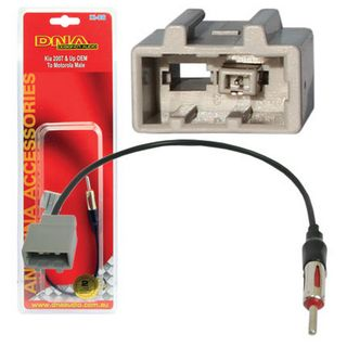 AERIAL ADAPTER KIA TO STANDARD PLUG (RECTANGLE PLUG)