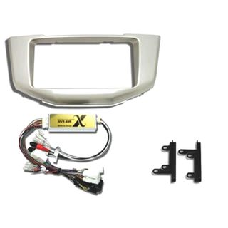 FITTING KIT TOYOTA HARRIER / LEXUS RX330 / RX350 / RX450H (6 SPEAKER  WITH NAV)