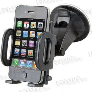 PHONE CRADLE WINDOW SUCTION MOUNT (ADJUSTABLE CLAMP 50 -115MM)