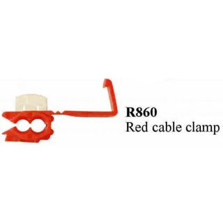 RS.L. CABLE CLAMP RED TERMINAL  (200PACK)