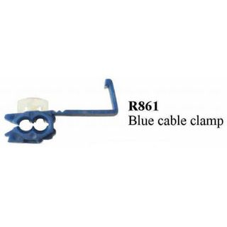S.L.CABLE CLAMP BLUE TERMINAL  (200PACK)