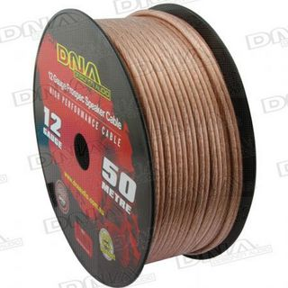 DNA CABLE 12 GAUGE SPEAKER CABLE TRANSLUCENT 50MTR
