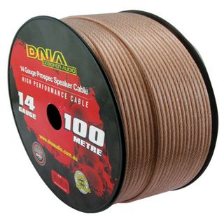 DNA CABLE 14 GAUGE  SPEAKER CABLE TRANSUCENT 100MTR