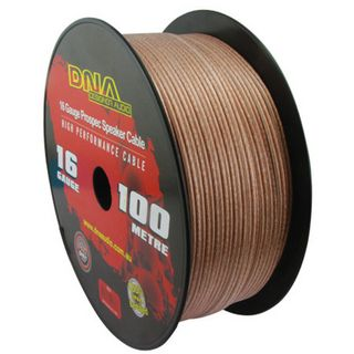 DNA CABLE 16 GAUGE  SPEAKER CABLE TRANSUCENT 100MTR