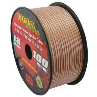 DNA CABLE 18 GAUGE SPEAKER CABLE TRANSUCENT 100MTR