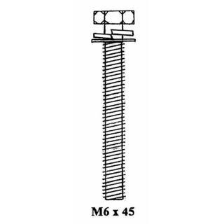 BOLT M6 X 45MM