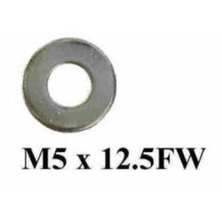 FLAT ZINC WASHER M5 X 12.5 X 1MM