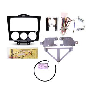 FITTING KIT MAZDA RX8 2003 - 2008 DOUBLE DIN (WITH HARNESS)
