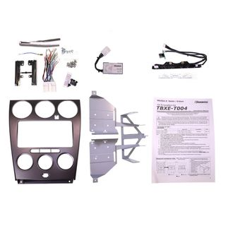 FITTING KIT MAZDA 6/ATENZA 2002 - 2005 DOUBLE DIN (WITH HARNESS)