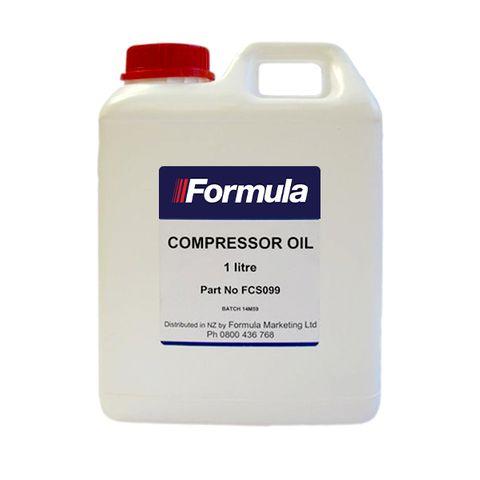 COMPRESSOR OIL - 1 LITRE