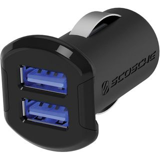 USB CIGARETTE DUAL CHARGER 2X 12W PORTS
