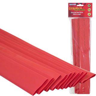 HEATSHRINK 25MM RED (10 PACK)