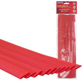 HEATSHRINK 12MM RED (10 PACK)