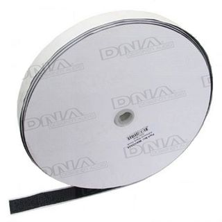 VALCRO ADHESIVE HOOK 25MM WIDE 25 MTR