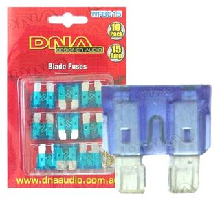 BLADE FUSES 15 AMP FUSE (10 PACK)