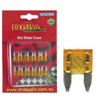 BLADE FUSES MINI 5 AMP FUSE ATM (10 PACK)