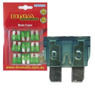 BLADE FUSES STANDARD 30 AMP FUSE ATO (10 PACK)