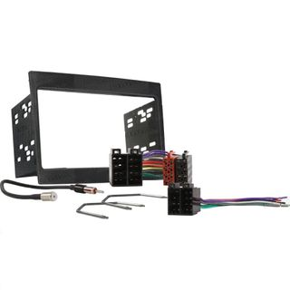 FITTING KIT HOLDEN COMMODORE VY-VZ DOUBLE DIN (GREY)