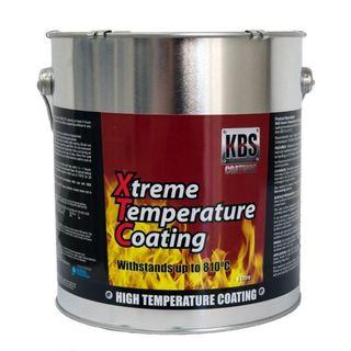 KBS XTC XTREME TEMP COATING ALUMINIUM 4 LITRE