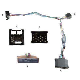 HARNESS 3G DRIVE & TALK BMW 17 PIN