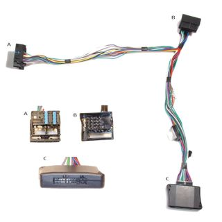 HARNESS BMW 2001-16PIN