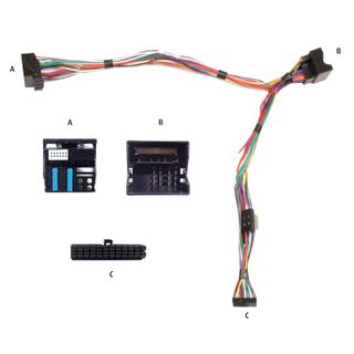 HARNESS AUDIO2CAR FORD MONDEO 2003-