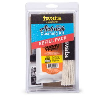 IWATA AIR BRUSH CLEANING KIT REFILL PACK
