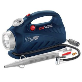 CAMPBELL HAUSFELD INFLATOR 12V WITH LIGHT 150PSI NOZZLE