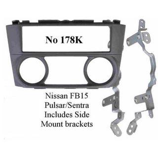 NISSAN PULSAR / SENTRA FB15 FACIA KIT AND BRACKETS MAN AIR