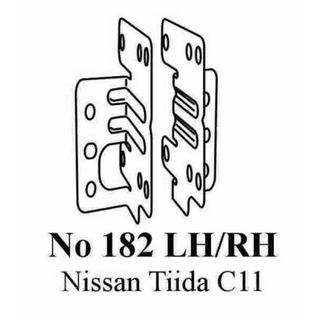 NISSAN TIIDA  C11 SIDE BRACKETS