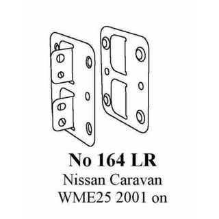 NISSAN CARAVAN E25  01 TO 08/07  SIDE BKTS