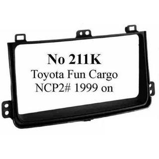 TOYOTA FUN CARGO NCP2# (BLACK) 08/1999 ON