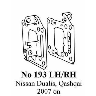 NISSAN DUALIS/QASHQAI 2007 ON SIDE BRACKETS