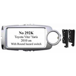 TOYOTA VITZ YARIS 2010 ON SILVER ROUND HAZARD