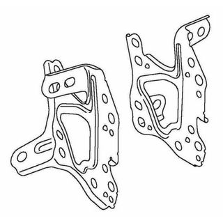HIACE TRH201KDH200 2005 ON SIDE BRACKETS