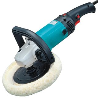FORMULA ELECTRIC ROTARY POLISHER / SANDER 180MM + WOOL PAD