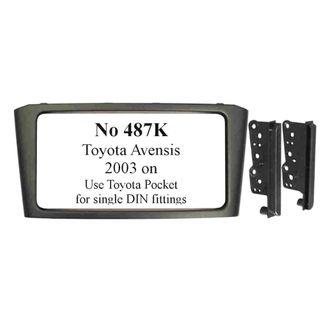 TOYOTA AVENSIS 2003 ON  (BLACK)