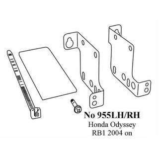 RADIO BRACKETS HONDA ODYSSEY 2004 ON (RB1)