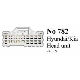 HYUNDAI /KEA 24 PIN HEAD UNIT HOOK UP