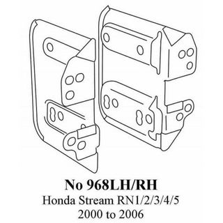 HONDA STREAM RN5 SIDE BRACKETS