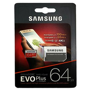 SAMSUNG EVO PLUS 64GB SD CARD