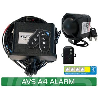 A4 AS/NZS STANDARDS CERTIFIED ALARM/IMMOBILISER