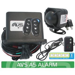 A5 AS/NZS STANDARDS CERTIFIED ALARM/IMMOBILISER