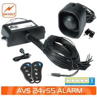 24V S5 AS/NZS STANDARDS CERTIFIED ALARM/IMMOBILISER