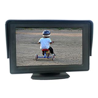 "RM43 4.3"" PEDESTAL MOUNT RCA LCD MONITOR"