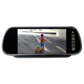 "RM70M 7"" CLIP ON REAR VIEW MIRROR RCA LCD MONITOR"