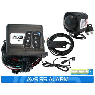 S5 AS/NZS STANDARDS CERTIFIED ALARM/IMMOBILISER